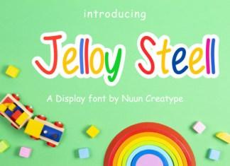 Jelloy Steell Font