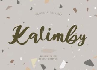 Kalimby Font
