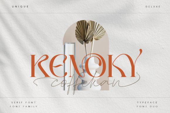 Kenoky Coffekan Font