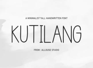 Kutilang Font