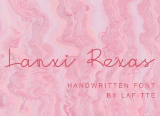 Lanxi Rexas Font