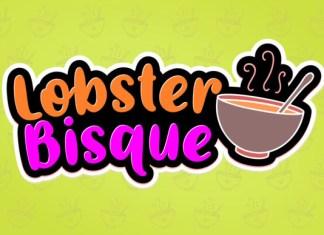 Lobster Bisque Font