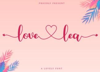 Love Lea Font