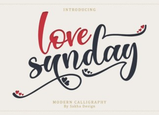 Love Sunday Font