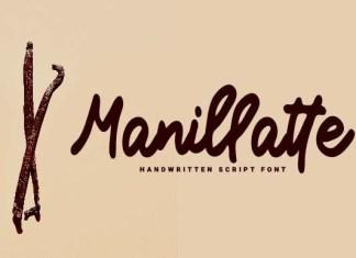 Manillatte Font