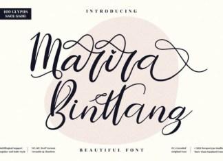 Marira Binttang Font