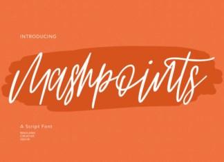 Mashpoints Font
