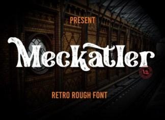 Meckatler Font