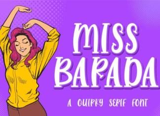 Miss Barada Font