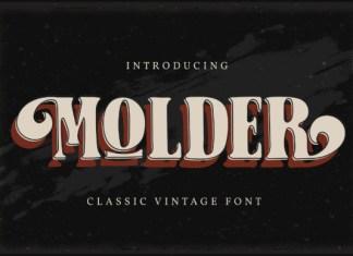 Molder Font