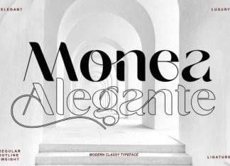 Monea Alegante Font