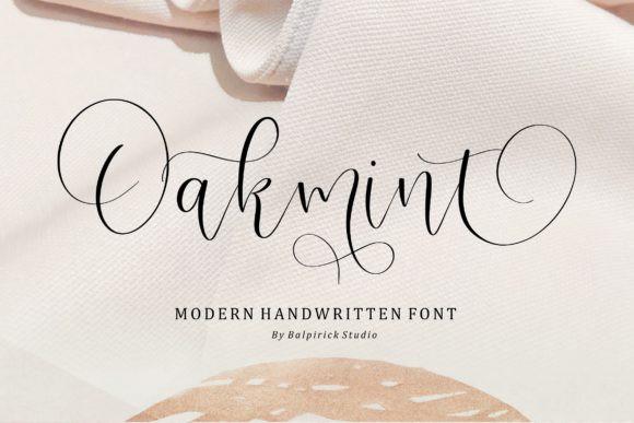 Oakmint Font
