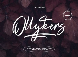 Ollykers Font