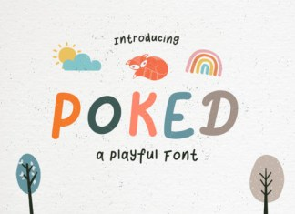 Poked Font