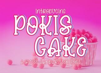 Pokis Cake Font