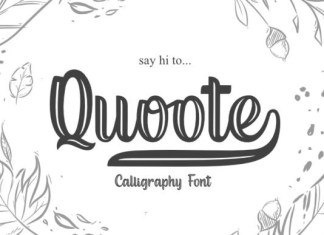 Quoote Font