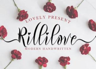 Rillilove Font
