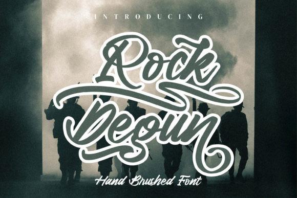 Rock Degun Font