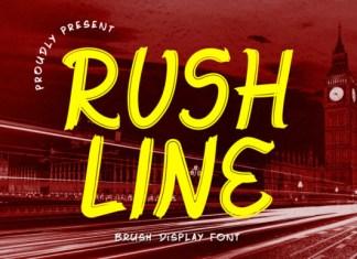 Rushline Font