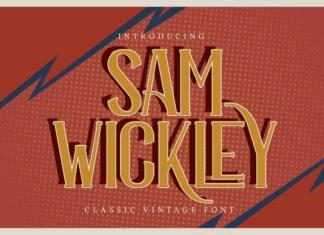 Sam Wickley Font