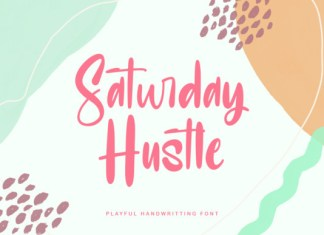 Saturday Hustle Font