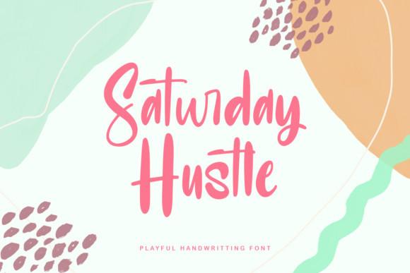 Saturday Hustle Font