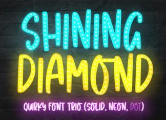 Shining Diamond Font