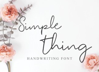 Simple Thing Font