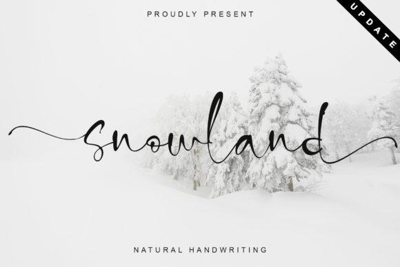 Snowland Font