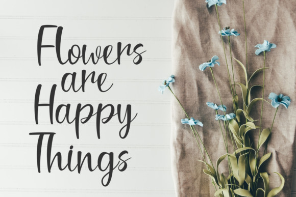 Stay Happy Sunshine Font
