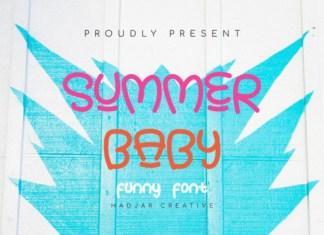 Summer Baby Font