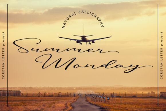 Summer Monday Font