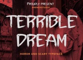 Terrible Dream Font