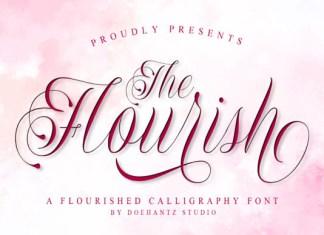 The Flourish Font