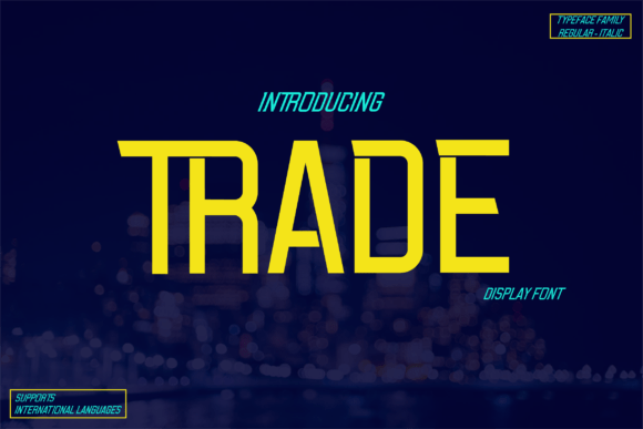 Trade Font