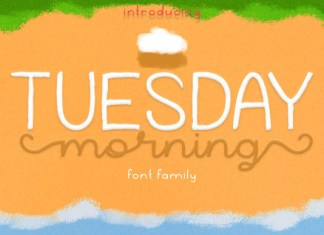 Tuesday Morning Font