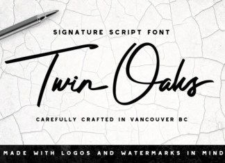 Twin Oaks Font