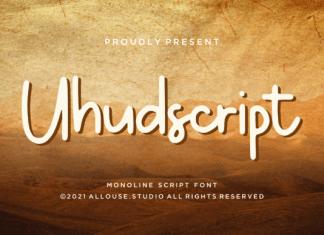 Uhudscript Font