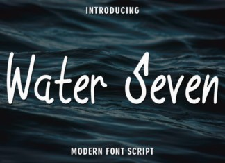 Water Seven Font
