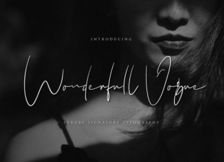 Wonderfull Vogue Font
