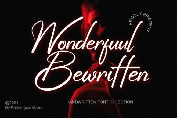 Wonderfuul Bewritten Font