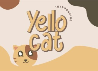 Yello Cat Font