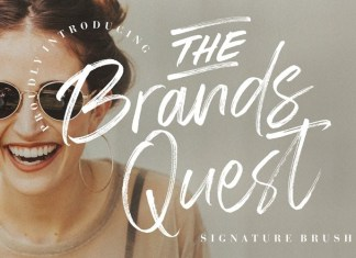 The Brands Quest Font