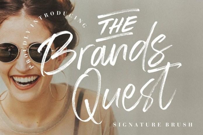 The Brands Quest Font