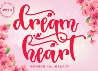 Dream Heart Font