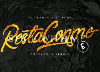 Restaconme Font