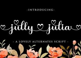 Jully Julia Font
