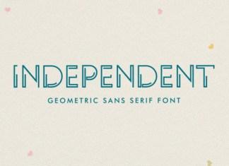 INDEPENDENT Font