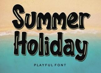 Summer Holiday Font