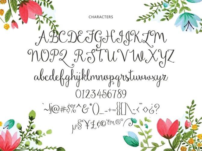 Dandelion Soup Font
